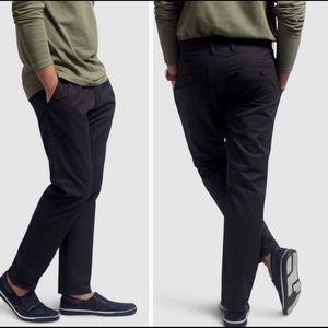 Host Pick! NWT Mens pleated chino pants black